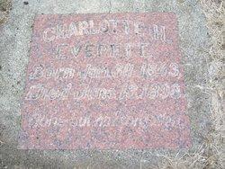 """Charlotte """"Lottie"""" <I>Bowman</I> Everett"""