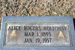 Alice Lucy <I>Rogers</I> Holloway