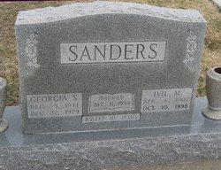 Georgia Mae <I>Siler</I> Sanders