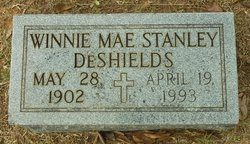 Winnie Mae <I>Stanley</I> DeShields