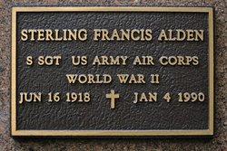 """Sterling Francis """"Bud"""" Alden"""