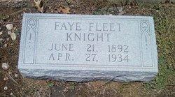 Faye Fleet <I>Shafer</I> Knight