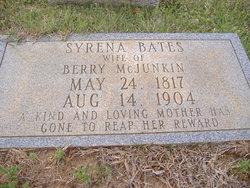 Syrena <I>Bates</I> McJunkin