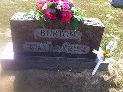 Agnes M. <I>Gilliland</I> Burton