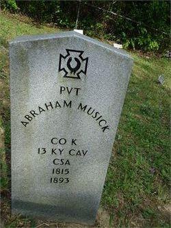 Pvt Abraham Musick