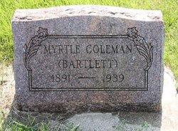 Myrtle Alberta <I>Dicus</I> Bartlett