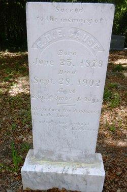 Elizabeth D.E. <I>Todd</I> Gause