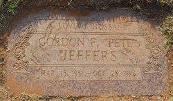 "Gordon Frank ""Pete"" Jeffers"