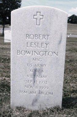 Robert Lesley Bowington