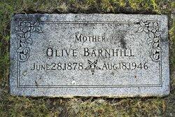 Olive <I>Miles</I> Barnhill