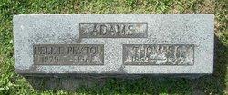 Nellie <I>Payton</I> Adams