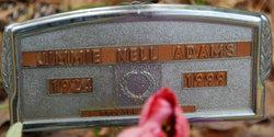 Jimmie Nell <I>Hughes</I> Adams