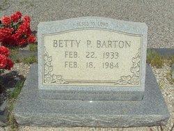 Betty P. Barton