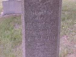 Annie Johnanna <I>Light</I> Deskin