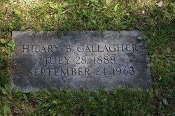 Hilary Edith <I>Brady</I> Gallagher