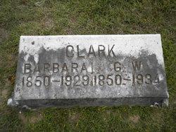 """Margaret Alice """"Barbara"""" <I>Lumdson</I> Clark"""