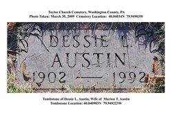 Dessie Lucille <I>Knisley</I> Austin Hall