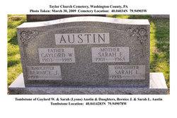 "Gaylord Wilshire ""Sharpy"" Austin"
