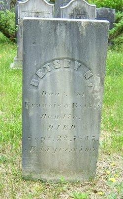 Betsey M Hamlin