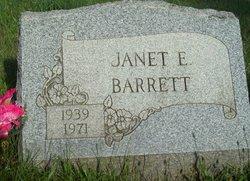 Janet E <I>McAninch</I> Barrett