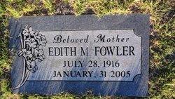 Edith M Fowler