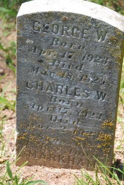 Charles W Markham