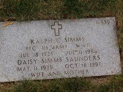 Ralph G Simms
