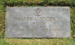 Walter Lincoln Tooze Jr.