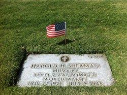FLT O Harold Henderson Sherman