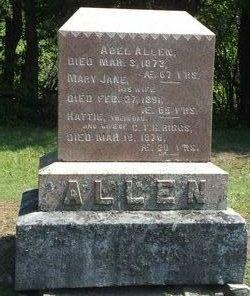 Hattie <I>Allen</I> Riggs