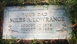 Miles Alonzo Lowrance