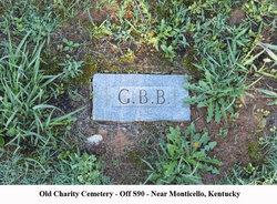 "Gambetta Larkin ""G. B."" Back"