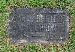 Sarah R. <I>Shields</I> Patterson