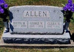 Clara May <I>Jackman</I> Allen