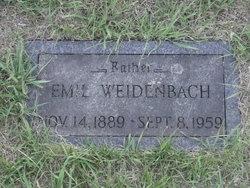 Emil Weidenbach