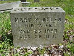 Mary S. <I>Allen</I> Fagg