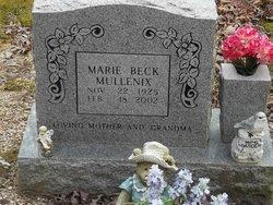 Marie Ida <I>Beck</I> Mullenix