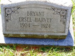 Ersel <I>Harvey</I> Bryant