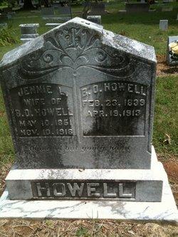 Jennie L Howell