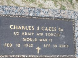 Charles James Cazes, Sr