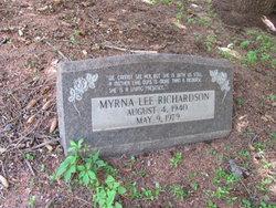 Myrna Lee <I>Wilson</I> Richardson