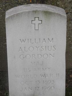 William Aloysius Gordon