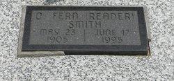 Olive Fern <I>Reader</I> Smith
