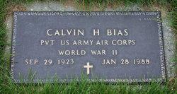 Calvin H Bias