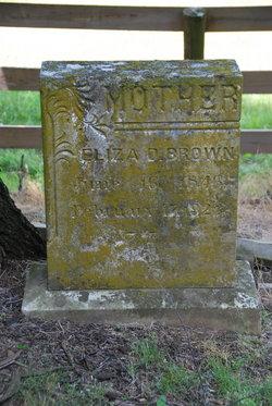 Eliza D Brown