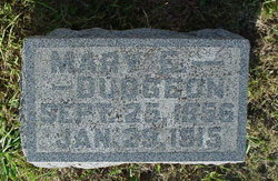 Mary Elizabeth <I>Scott</I> Dudgeon