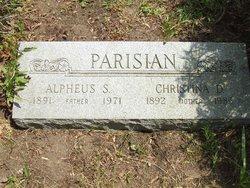 Alpheus S. Parisian