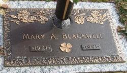 Mary Alice <I>Weaver</I> Blackwell