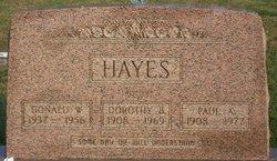 Dorothy Belle <I>VanFossen</I> Hayes