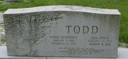 Wilbur Washington Todd